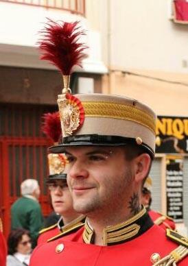 Javier Marín, un gran amante de la Semana Santa y de las Bandas en general