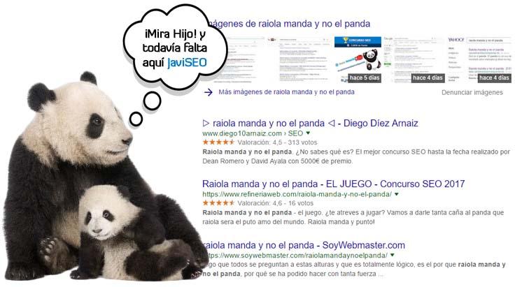 Posiciones Raiola y panda 14 de Junio