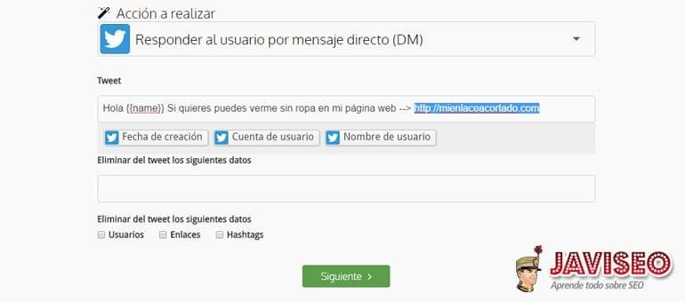 Configurar el MD