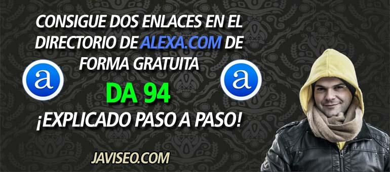 Conseguir dos enlaces de Alexa.com GRATIS